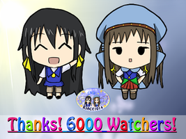 6000 Watcher Achievement! (It's over 6000!!!) by RJAce1014