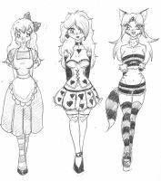 Alice in Three Ways by spawnfan