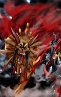 VS SaberLeomon by kaizer33226