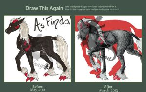 As'Findal Draw this Again by KTdragon