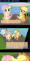 MLP: DERP-Rolled -COMIC- by AniRichie-Art