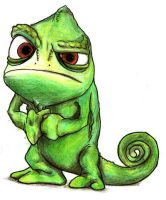 Pascal from Tangled by Tiamat17