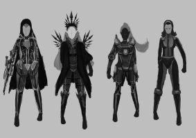 Character Design First Attempt by Keyzah