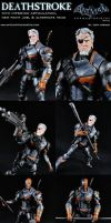 Custom Deathstroke (Arkham Origins) Figure by MintConditionStudios