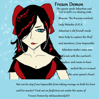 Black Butler OC - Russian Overlord by whiteandnerdyXD