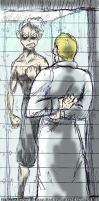 War Diary - Wesker and Ghost by WAH-HOO