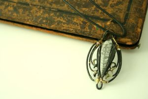 Wirework Pendent 10 by dracontia