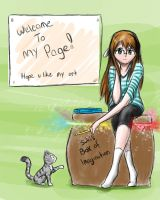 Welcome ID by IfreakenLoveDrawing