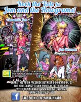 ROCK THE VOTE with JEM by ninjaink