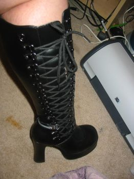 my new boots by RachLynnPhotography