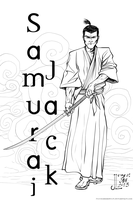 Samurai Jack - JAN 2013 16 Day Art Jam by JeremiahLambertArt