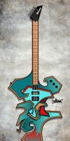 graffiti guitar by EkaOne1