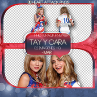 +Photopack png de Cara y Tay. by MarEditions1