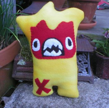 Grr Sparky is Angry by verukadolls