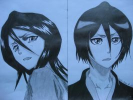 Rukia Kuchiki by captaingrimmjow