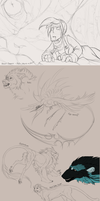 Sketchtime #18: Wips and Stuff by LivanaS