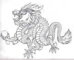 Chinese-Oriental Dragon by Nera-Aljon