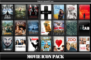 Movie Icon Pack 50 by FirstLine1