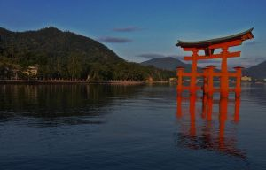 Miyajima in the Morning by pinballwitch