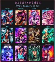2015 summary of art by RetkiKosmos