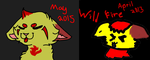 Wildfire Comparison by Pikachu11964