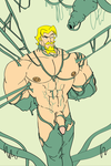 Green Arrow Slimed and Cacooned by mchlsctt709