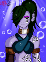 Tideborn Assassin by wolfgirl76543