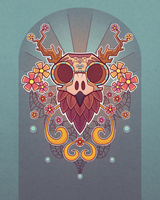 Owl Skull by AngerAlone