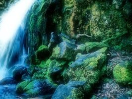 Waterfall Stock 4 by sophia-T