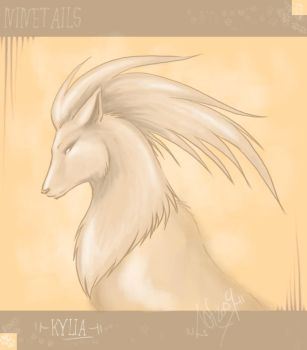 .Kylia.the.ninetails. by guardianofire