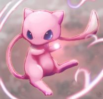 Mew use psychic by Pand-ASS