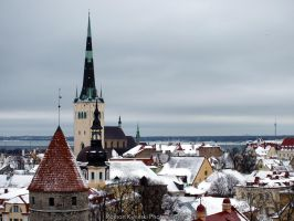 Winter. Tallinn by wwwromaxaee
