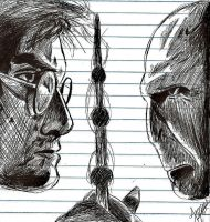 Deathly Hallows Pen by Jamin95