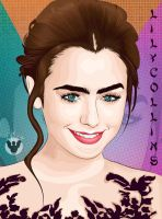 Lily Collins by modinata