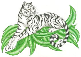 White Bengal- Commission by CaptainMorwen