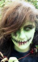 Zombie Makeup by XxkinksxX