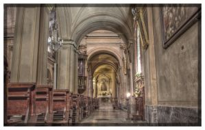 In the church by mauromago