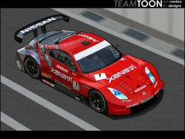 Nissan 350Z SuperGT by Ophideus
