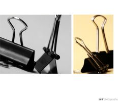 paper clip by amirphotography
