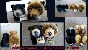 Webkinz Signature Brown and Black Bears FOR SALE! by Vesperwolfy87