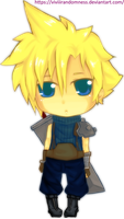 Cloud Chibi by ViJohnSyu
