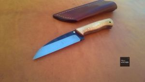 Wharncliffe Knife by MLLKnives