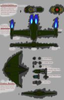 Immortal Empire Fighter Craft by 0verlordofyou