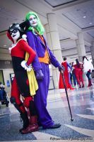 Mega Con - Joker and Harley by Rebecca-Manuel