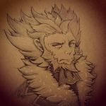 Lysandre Drawing in my new SketchBook by yamihp7