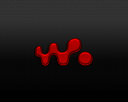 Carbon Red Walkman by wraithevolution