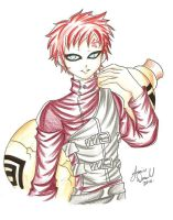 Naruto: Gaara of the Sand by AnimeJanice