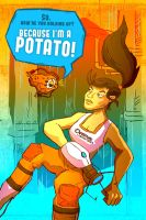 I'M A POTATO by ColtonBalske