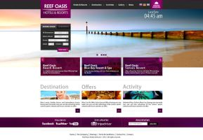 Reef Oasis Hotels and Resorts - Home Page by MaiEltouny