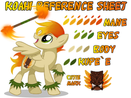 Koahi Reference Sheet by equinepalette